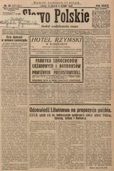 Słowo Polskie. 1929, nr33