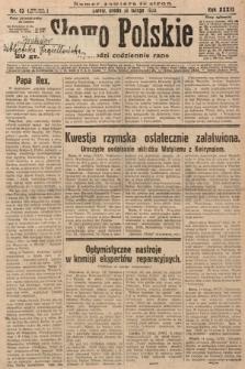 Słowo Polskie. 1929, nr43