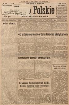 Słowo Polskie. 1929, nr45