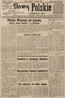 Słowo Polskie. 1929, nr56
