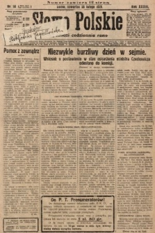 Słowo Polskie. 1929, nr58