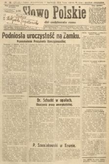 Słowo Polskie. 1929, nr110
