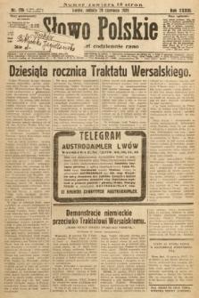 Słowo Polskie. 1929, nr176