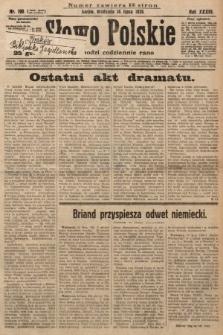 Słowo Polskie. 1929, nr190