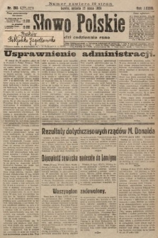 Słowo Polskie. 1929, nr203