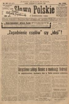 Słowo Polskie. 1929, nr232