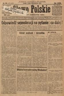 Słowo Polskie. 1929, nr256