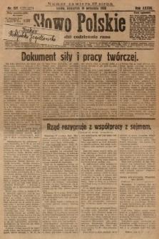 Słowo Polskie. 1929, nr257