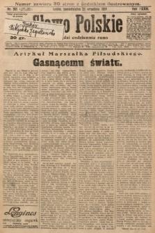 Słowo Polskie. 1929, nr261