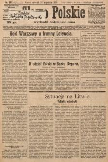 Słowo Polskie. 1929, nr262