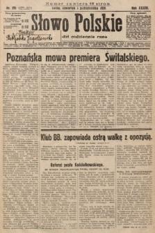 Słowo Polskie. 1929, nr271
