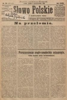 Słowo Polskie. 1929, nr272