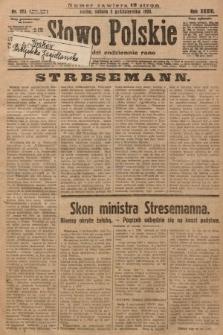 Słowo Polskie. 1929, nr273