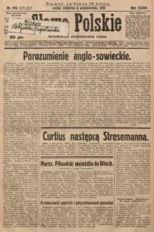Słowo Polskie. 1929, nr274