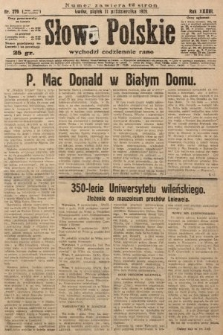 Słowo Polskie. 1929, nr279