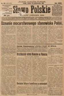 Słowo Polskie. 1929, nr286