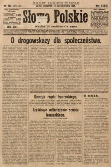 Słowo Polskie. 1929, nr292
