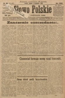 Słowo Polskie. 1929, nr300