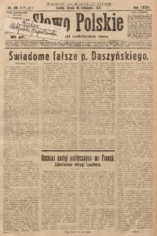 Słowo Polskie. 1929, nr319