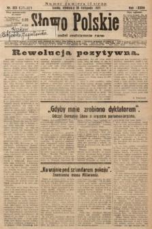Słowo Polskie. 1929, nr323