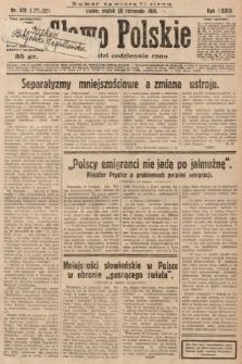 Słowo Polskie. 1929, nr328