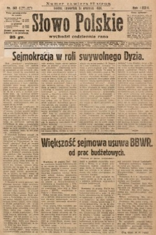Słowo Polskie. 1929, nr341