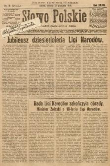 Słowo Polskie. 1930, nr16