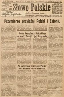 Słowo Polskie. 1930, nr40