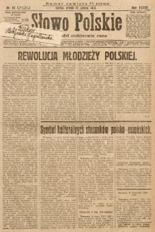 Słowo Polskie. 1930, nr41