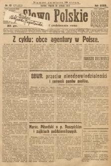 Słowo Polskie. 1930, nr43