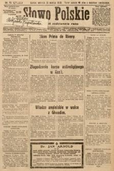 Słowo Polskie. 1930, nr75