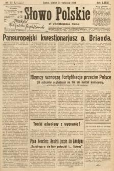 Słowo Polskie. 1930, nr111