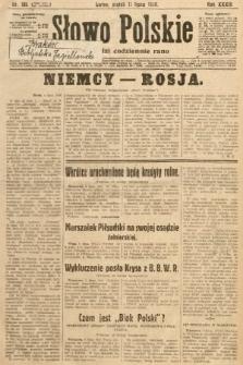 Słowo Polskie. 1930, nr186