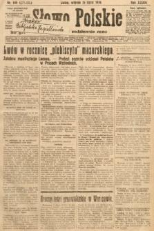 Słowo Polskie. 1930, nr190