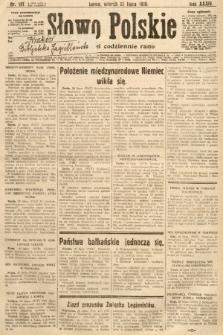 Słowo Polskie. 1930, nr197