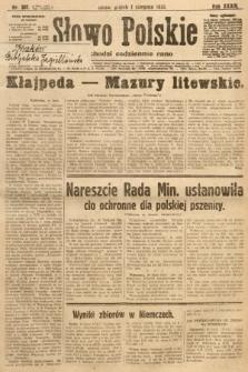 Słowo Polskie. 1930, nr207