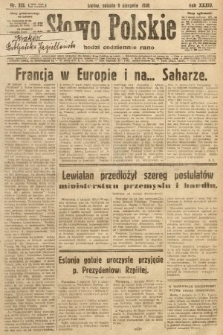Słowo Polskie. 1930, nr215