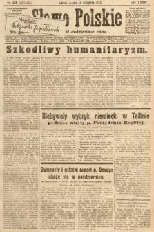 Słowo Polskie. 1930, nr226