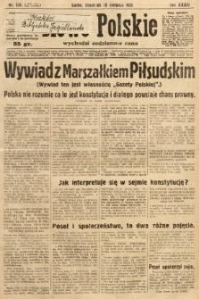 Słowo Polskie. 1930, nr234