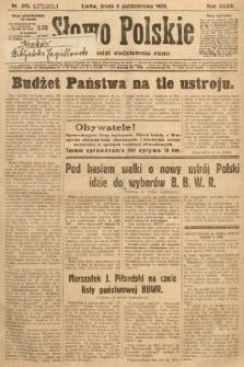 Słowo Polskie. 1930, nr275