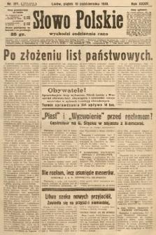 Słowo Polskie. 1930, nr277
