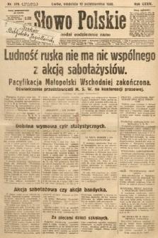 Słowo Polskie. 1930, nr279