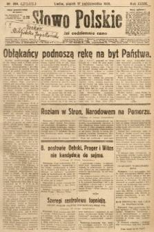 Słowo Polskie. 1930, nr284