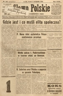 Słowo Polskie. 1930, nr303