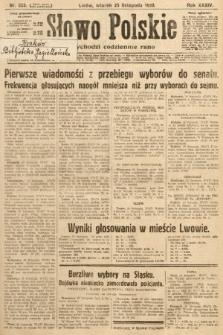 Słowo Polskie. 1930, nr323