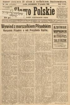 Słowo Polskie. 1930, nr343