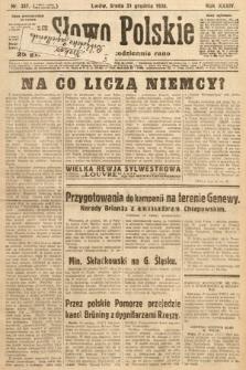 Słowo Polskie. 1930, nr357