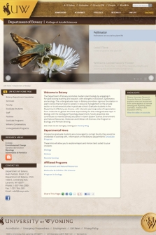 University of Wyoming : Department of Botany