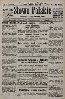 Słowo Polskie. 1928, nr35