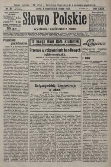 Słowo Polskie. 1928, nr36